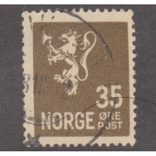 USED NORWAY #123 (1927)