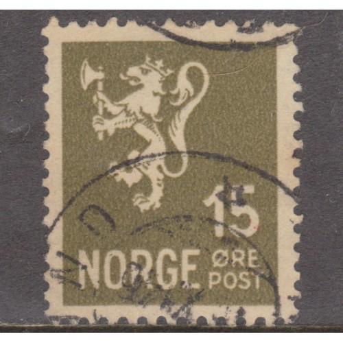 USED NORWAY #169 (1937)