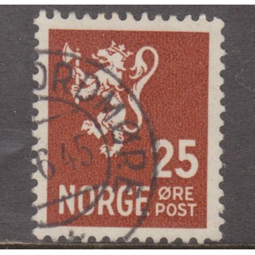 USED NORWAY #197 (1940)