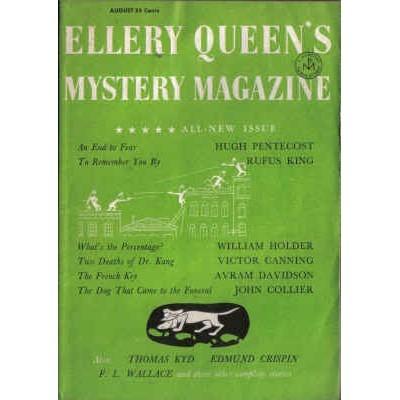 ELLERY QUEEN'S 1957/ 8 Pentecost, John Collier