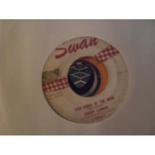 45 RPM: #2340.. FREDDY CANNON - TEEN QUEEN OF THE WEEK & WILD GUY / SWAN S 6096