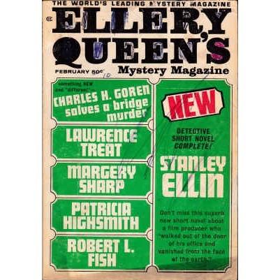 ELLERY QUEEN'S 1967/ 2 Ellin THE 12th STATUE