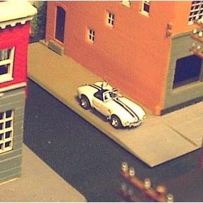 HO 1965 Shelby Cobra - for Train Layouts LOOK!! - 6991