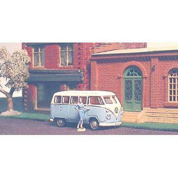 Mini Volkswagon VW Micro Samba Bus HO SCALE? - 4855