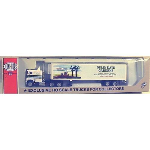 1/87 SEMI TRCATOR TRAILER - Dulin Date HO TRAINS - 10085