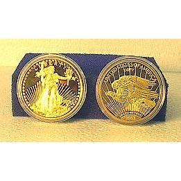 1933 Liberty Gold Proof-Like Coin Replica - 246B