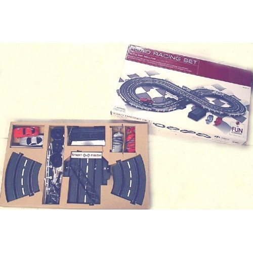 SLOT CAR RACE SET Battery Operated - 139D
