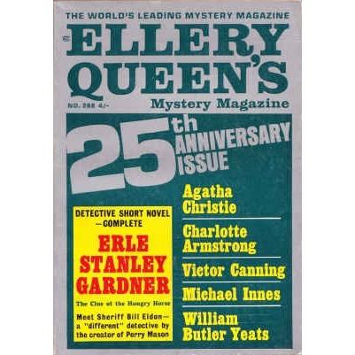 ELLERY QUEEN'S 1966/ 3 British Ed. GARDNER