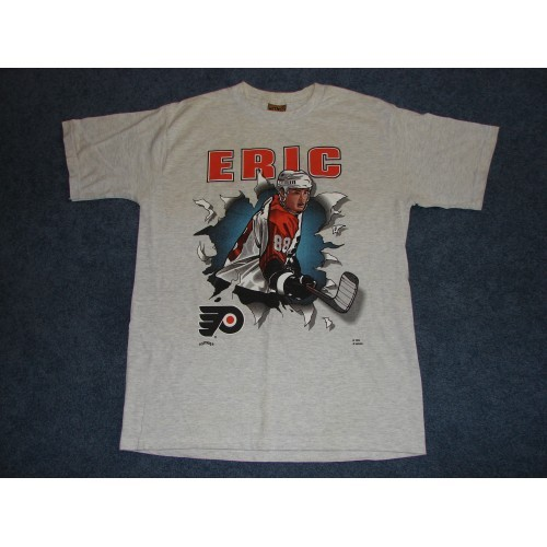 Vintage Eric Lindros 88 Philadelphia Flyers T-Shirt from Early 1990s