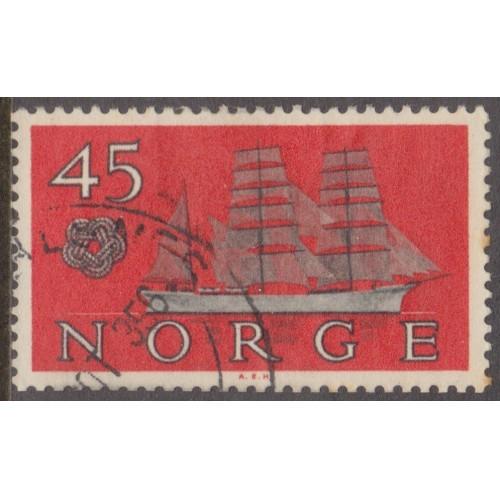 USED NORWAY #384 (1960)