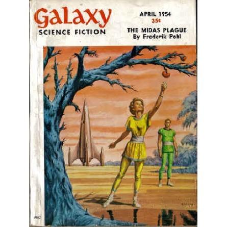 GALAXY 1954/ 4 Sheckley, Shaara, Knight