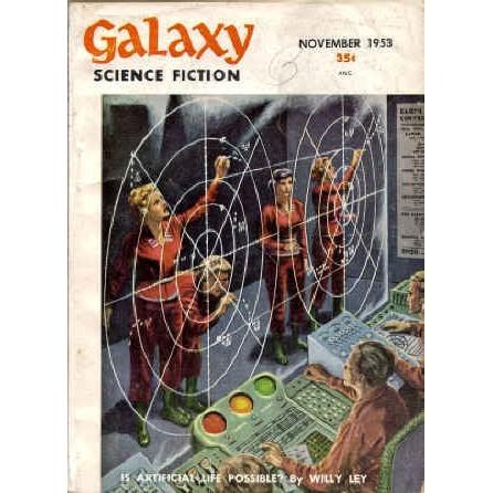 GALAXY 1953/11 Asimov, Sheckley, Shaara