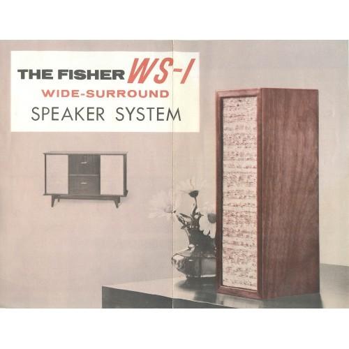 Fisher-WS01 Speaker Brochure