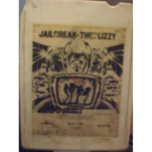 USED 8 TRACK: #1521.. THIN LIZZY - JAILBREAK / MERCURY 1081