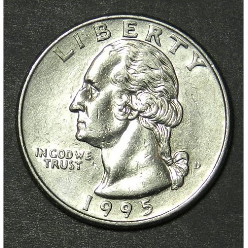 1995 D Washington Quarter-Item # 213