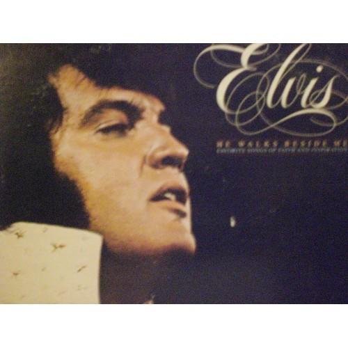 33 RPM ELVIS: #1682.. ELVIS PRESLEY - HE WALKS BESIDE ME / RCA VICTOR AFL1-2772