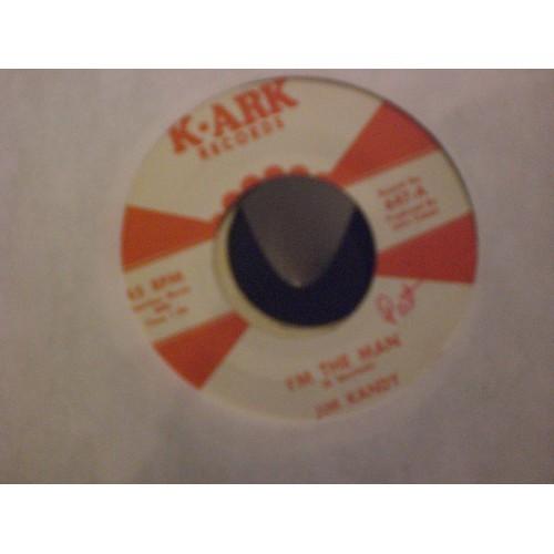 45 RPM: #6360.. JIM KANDY - I'M THE MAN & ANGELVILLE - SKY / K-ARK 647 / VG/VG+