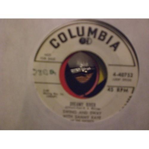 45 RPM: #6374.. SAMMY KAYE - DREAMY RIVER & THE RICH PEOPLE OF BROOKLYN / COLUMB