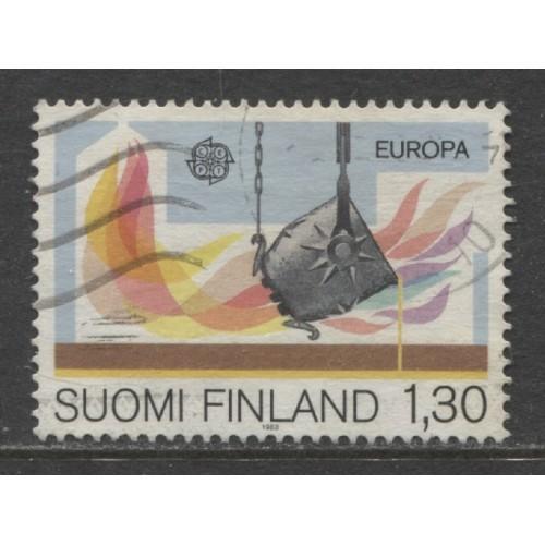 1983 FINLAND  1.30 m.  EUROPA  issue  used, Scott # 679