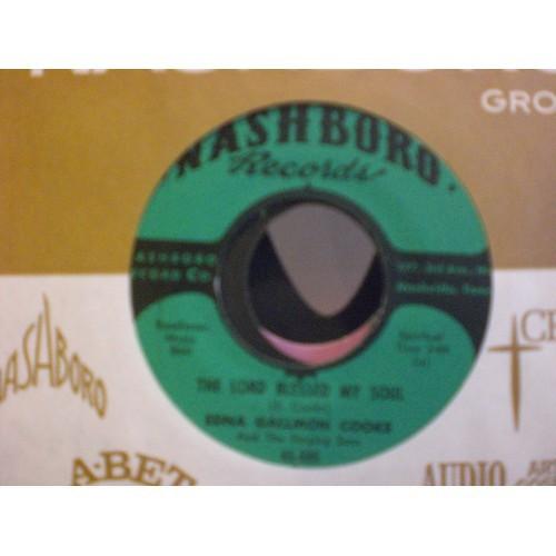 45 RPM BG: #6447.. SWANEE QUINTET - JESUS WON'T FAIL & THE FIRE KEEPS BURNING /