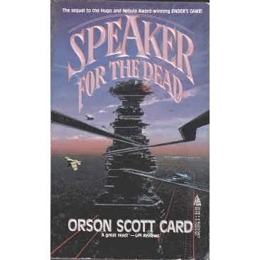 CARD Orson Scott SPEAKER FOR THE DEAD 1st PB