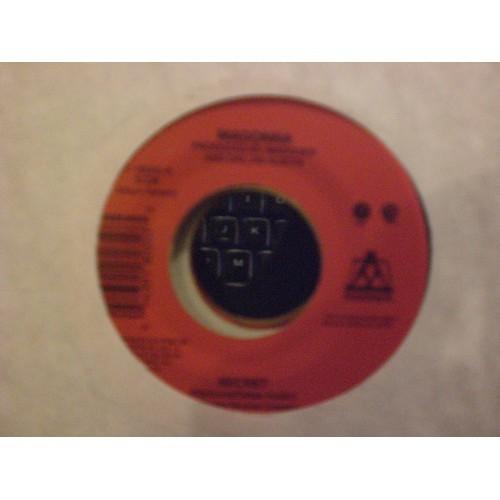 45 RPM: #6550.. MADONNA - SECRET (ALBUM & INSTRUMENTAL) / MAVERICK 18035 / VG+
