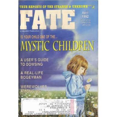 FATE Magazine 1992/ 4 Werewolves/Dowsing/ESP