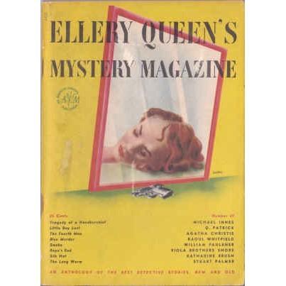 ELLERY QUEEN'S 1947/10 Christie, Faulkner