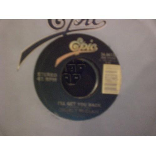45 RPM: #6574.. CHARLY McCLAIN - I'LL GET YOU BACK & SENTIMENTAL OL' YOU / EPIC