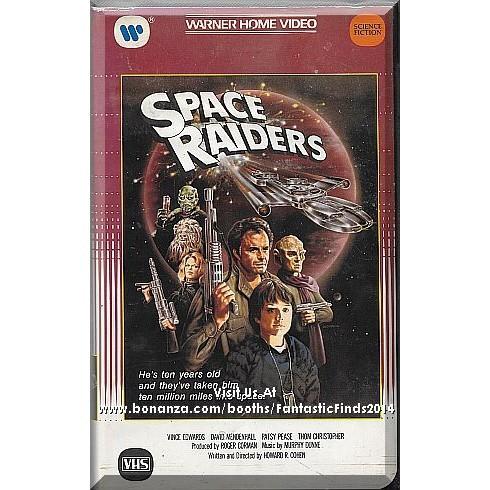 VHS - Space Raiders (1983) *Vince Edwards / Patsy Pease / David Mendenhall*