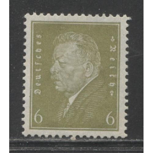 1932  GERMANY   6 Pf.  Pres. Friedrich Ebert  mint**, Scott # 369