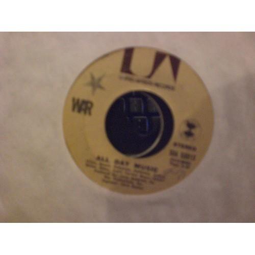 45 RPM: #6686.. WAR .. ALL DAY MUSIC & GET DOWN / UA 50815 / VG+