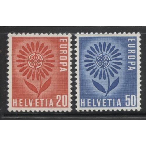 1964  SWITZERLAND  complete set  EUROPA issues  mint**, Scott # 438-439