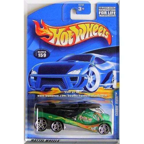 Hot Wheels - Cabbin' Fever: Collector #159 (2001) *Green Edition*