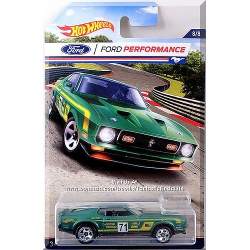Hot Wheels - '71 Mustang Mach 1: Ford Performance Series #8/8 (2016) *Walmart*