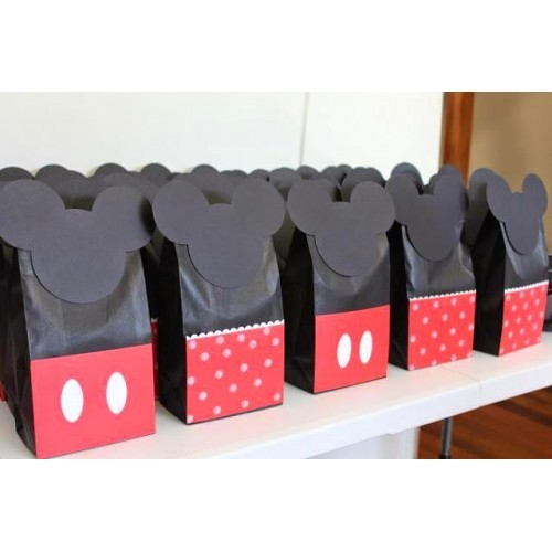 10 Mickey Minnie Mouse Goody Bags Loot Party Favor