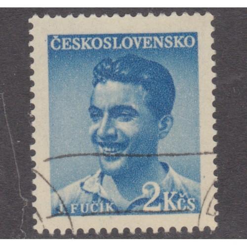 USED (CTO) CZECHOSLOVAKIA #377 (1949)