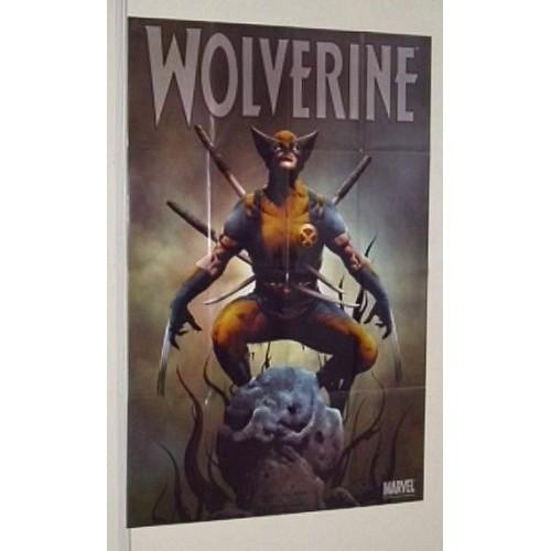 X-MEN WOLVERINE MARVEL COMIC BOOK SHOP WINDOW DISPLAY POSTER
