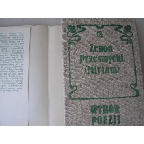 Wybor Poezji. Przesmycki (Miriam). (Polish)