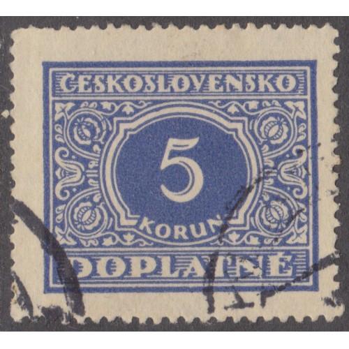 USED CZECHOSLOVAKIA #J67 (1928)