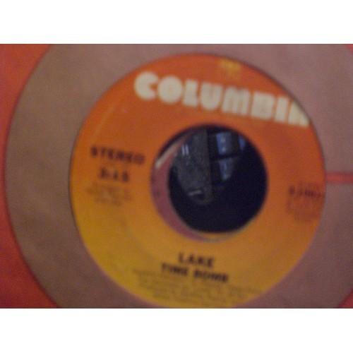 45 RPM: #6763.. LAKE - TIME BOMB & CHASING COLOURS / VG+ / COLUMBIA 3-10614