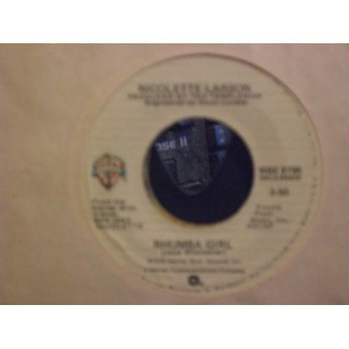 45 RPM: #6772.. NICOLETTE LARSON - LAST IN LOVE & RHUMBA GIRL / VG+ / WB 8795