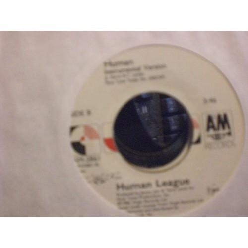 45 RPM: #6789.. HUMAN LEAGUE - HUMAN (VOCAL & INSTRUMENTAL) VG+ / A&M 2861