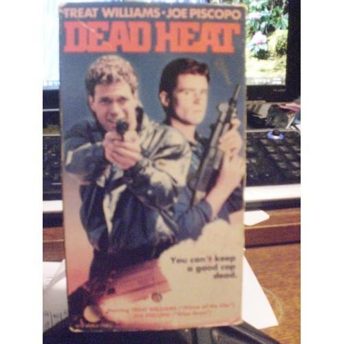 VHS TAPE: #425.. DEAD HEAT - TREAT WILLIAMS - JOE PISCOPO