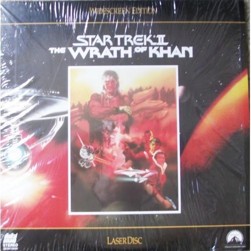 "Star TrekII-""The Wrath of Khan"" Laser Disc"