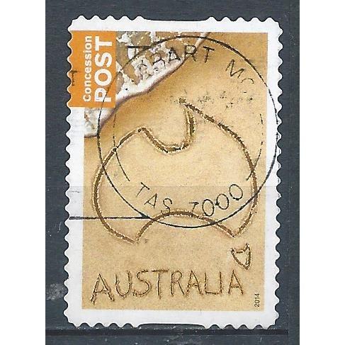 AUSTRALIA 2014 – Used Sc. 4068. CV $0.25