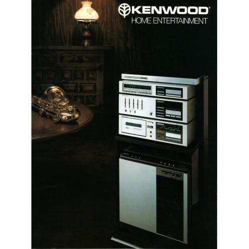 Kenwood - Home Entertainment Components -2 - Sales Brochure -