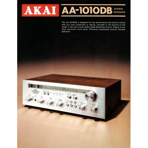 Akai - AA-1010DB Receiver - Sales Brochure