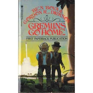 DICKSON/BOVA Gremlins Go Home 1st Ed Unread