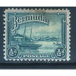 Bermuda (1936-40) Sc# 105 used